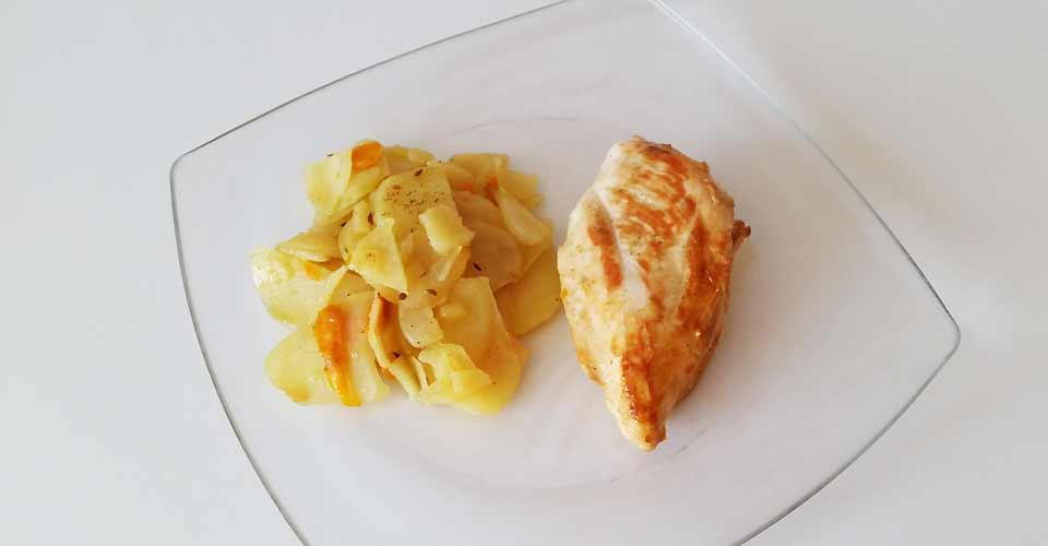 farm-truck-plat-poulet-carotte-pomme-terre
