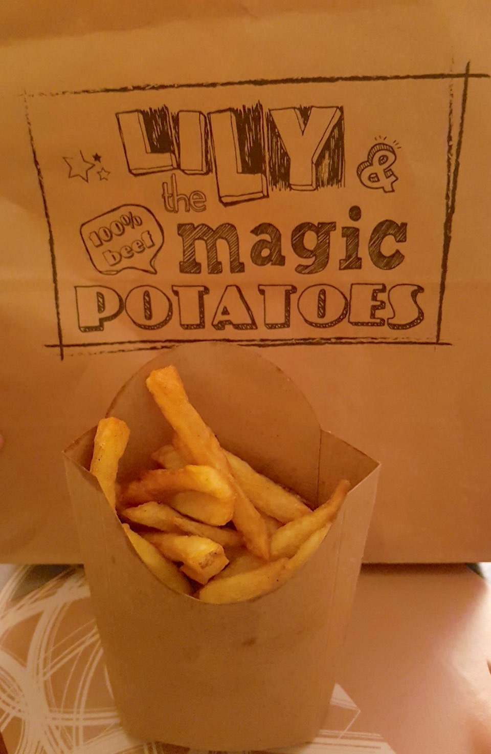 Lily and the Magic Potatoes frites