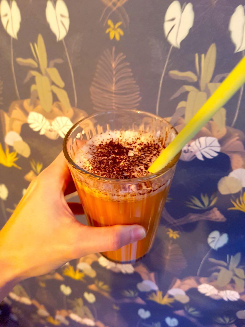 chai latte - botaniste strasbourg