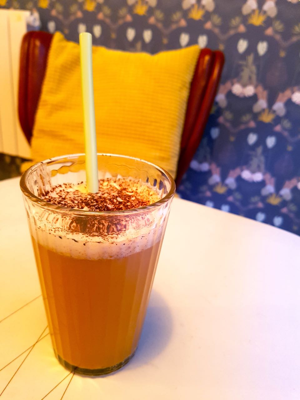 tea chai latte botaniste strasbourg