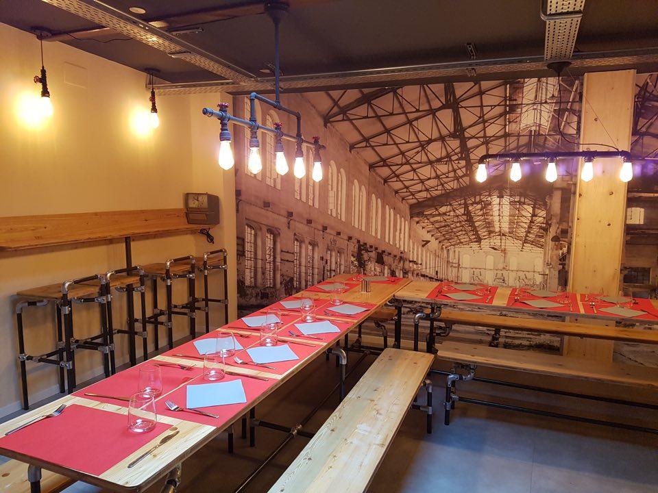 déco restaurant l'usine Strasbourg