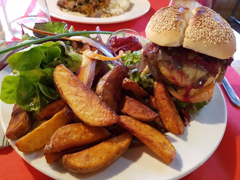 restaurant l'usine Strasbourg burger