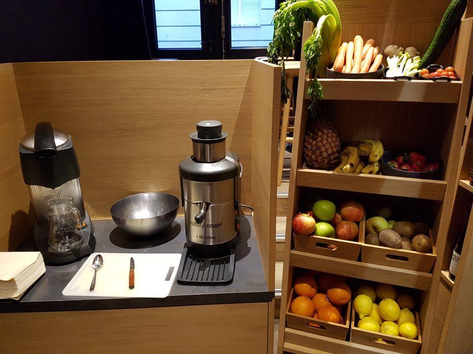 fruit petit déjeuner hotel hannong strasbourg