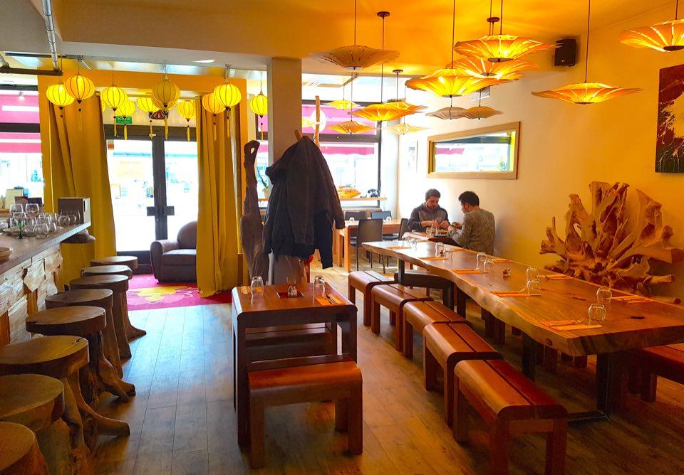 ambiance intérieure restaurant mandala strasbourg