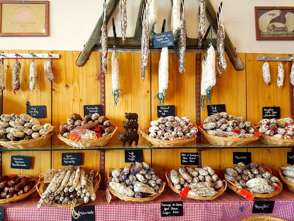 où acheter des saucissons à Strasbourg 3 Ptis cochons miss elka