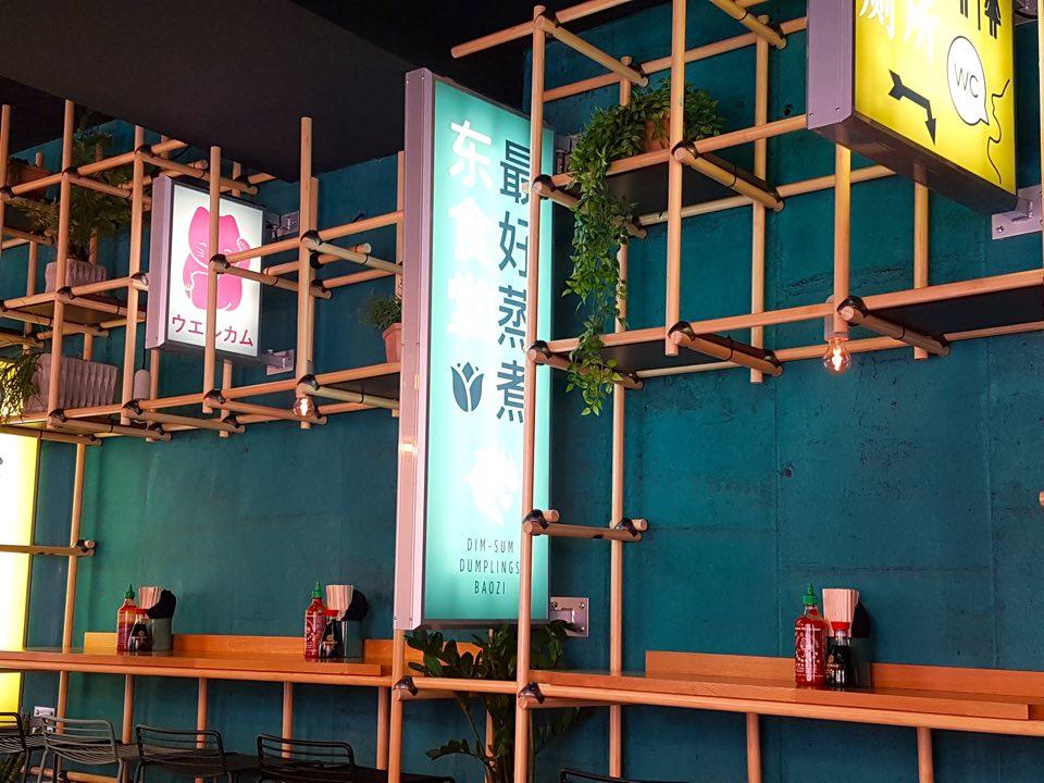 east canteen décoration asiatique