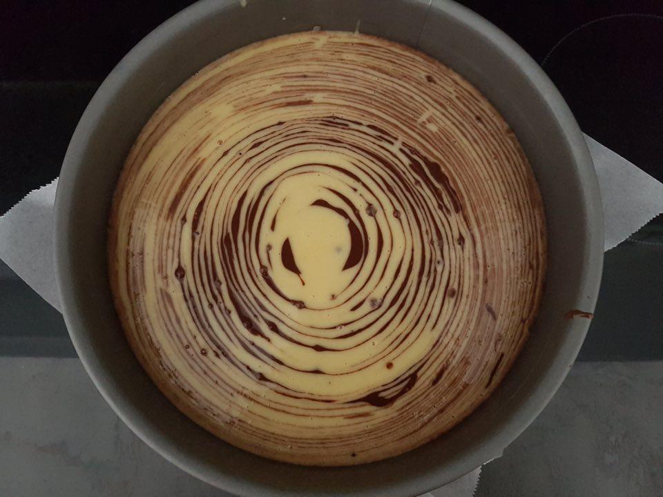 Gâteau zébré recette