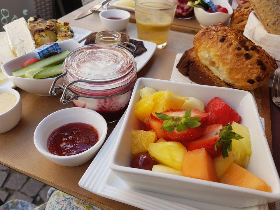 brunch végétarien La Part Thé Strasbourg