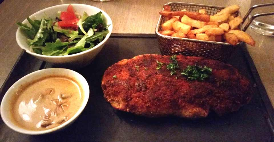 Le Diable Bleu : restaurant steak house