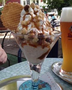 Italia Eis Café Kehl : Glacier