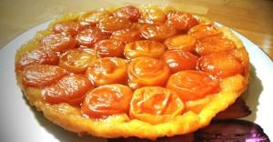 recette de Tarte tatin aux abricots d'été