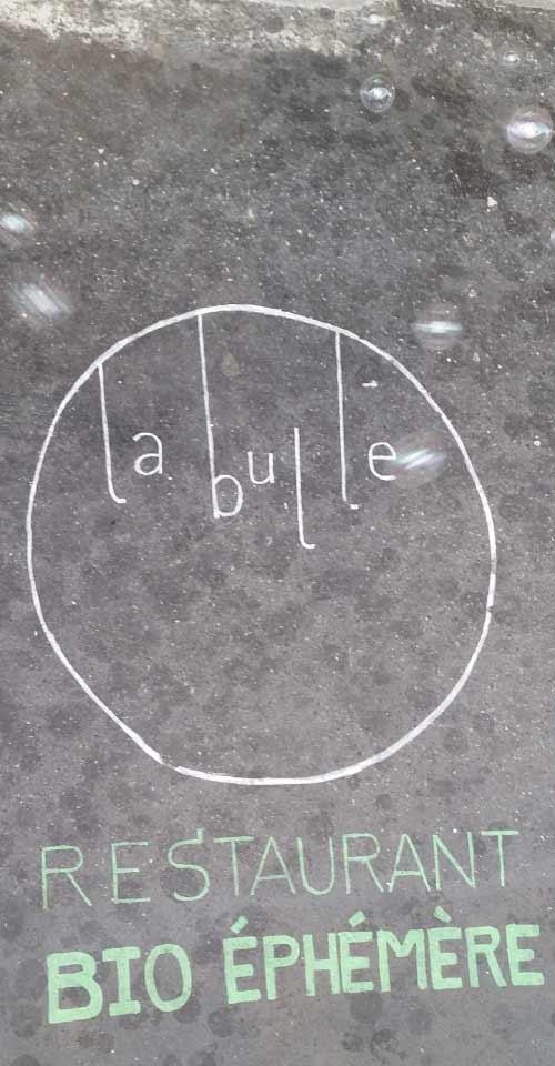 Une bulle de fraicheur éphémère