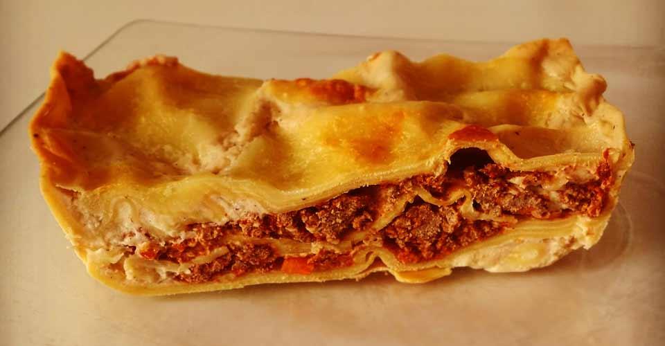 Ma recette de lasagnes à la bolognaise