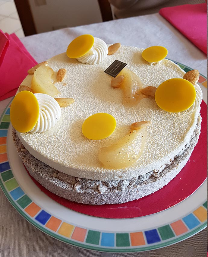 gateau pommes coing