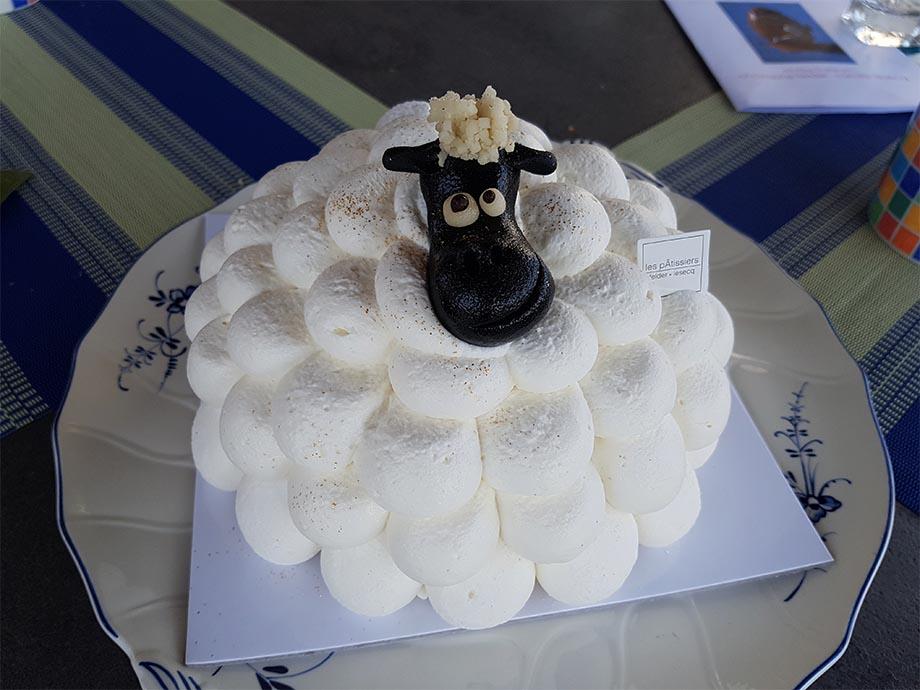 glace mouton les patissiers