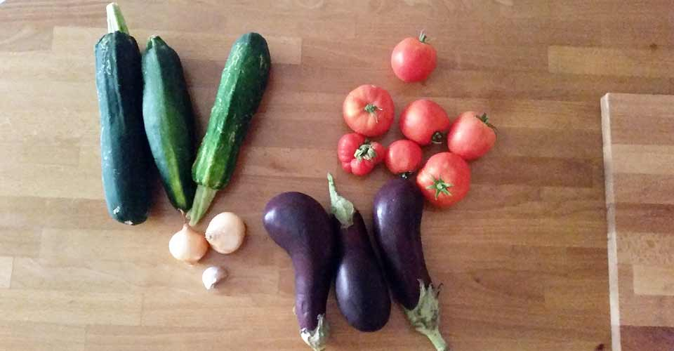 Recette de Ratatouille : légumes du soleil dans l'assiette