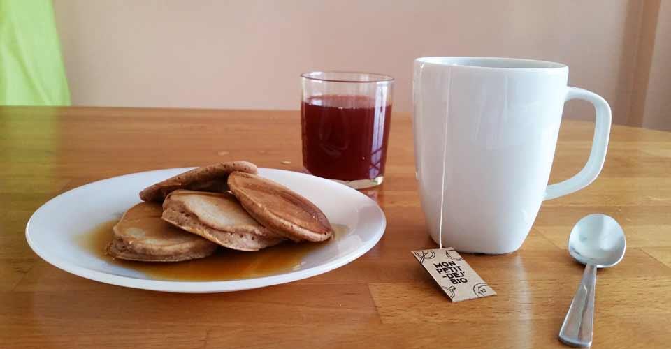 recette petit déjeuner : Pancakes à la châtaigne