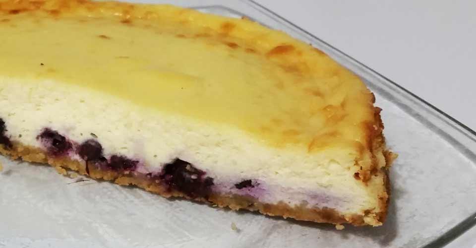 Recette de cheesecake myrtille