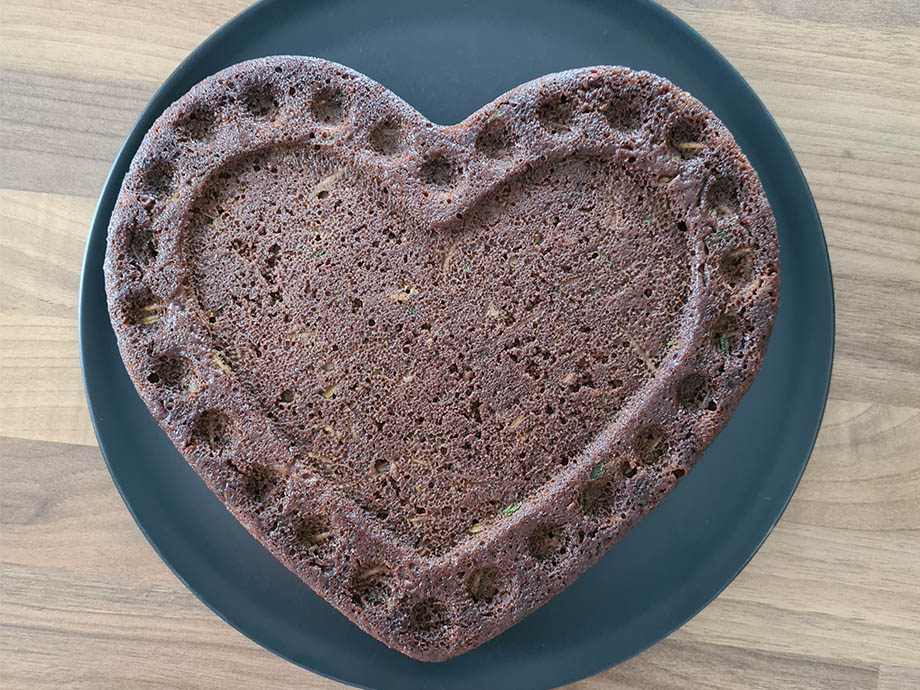 Recette de gâteau au chocolat et courgette sans lactose