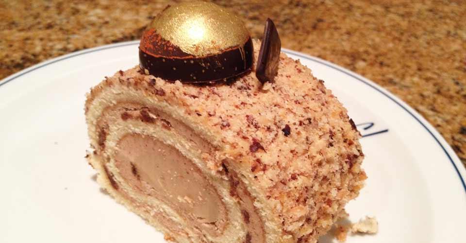 Pâtisserie Christian : fondu de chocolat