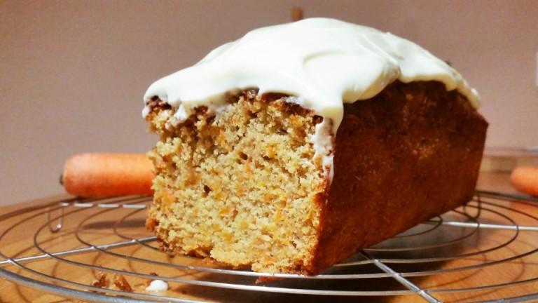 Carrot cake – cake à la carotte – recette
