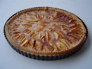 Tarte aux pommes alsacienne – Recette
