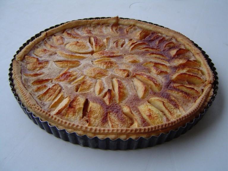 Recette de tarte aux pommes alsacienne