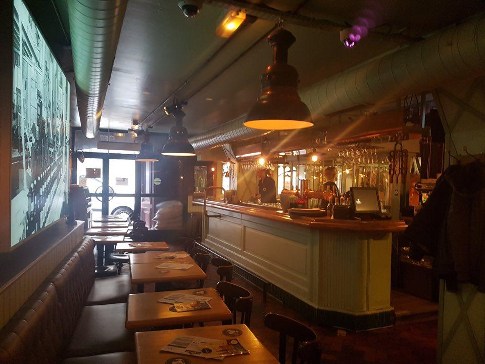 Au brasseur Strasbourg restaurant déco
