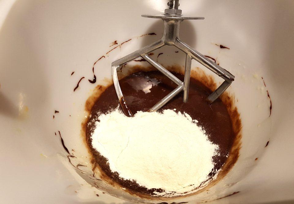 farine et chocolat