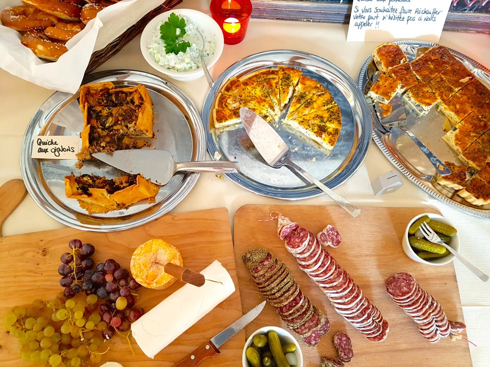 buffet dessert chez nous restaurant strasbourg