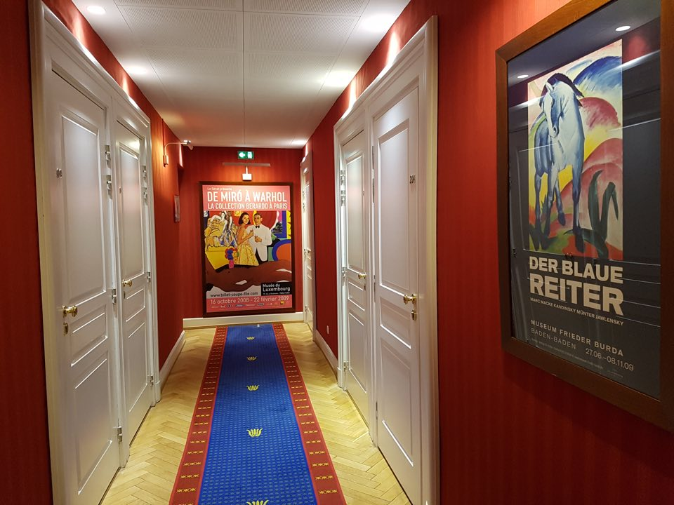 couloir affiche ancienne