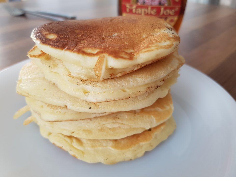 Recette de pancakes épais et moelleux