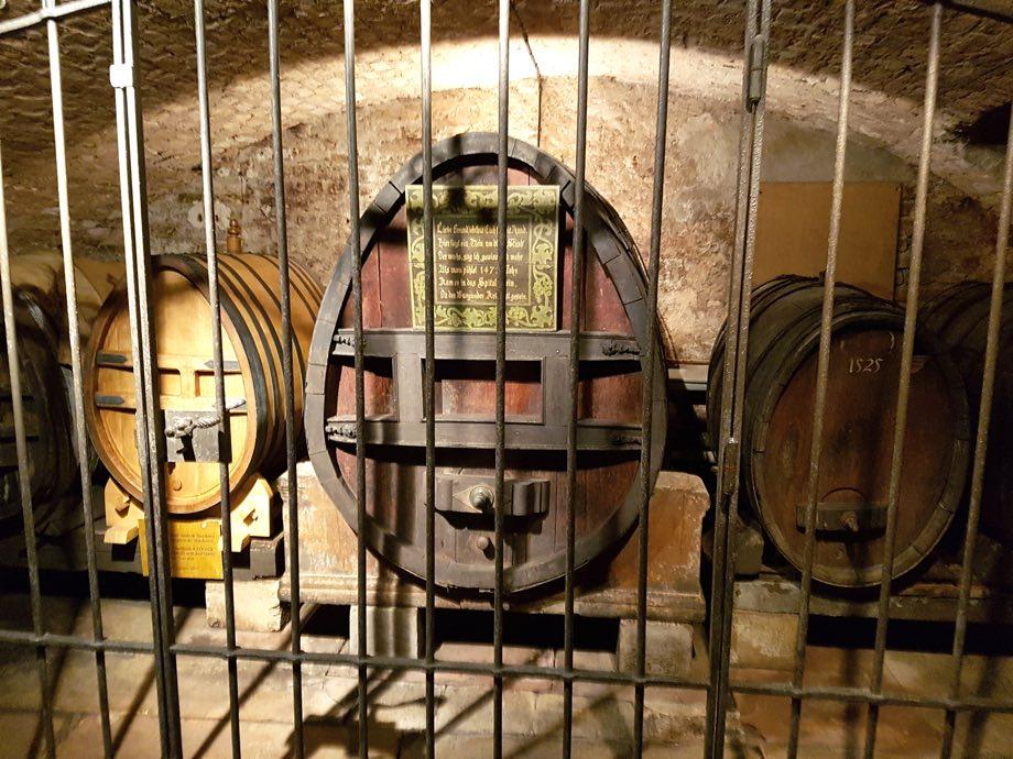 Cave des Hospices de Strasbourg tonneaux