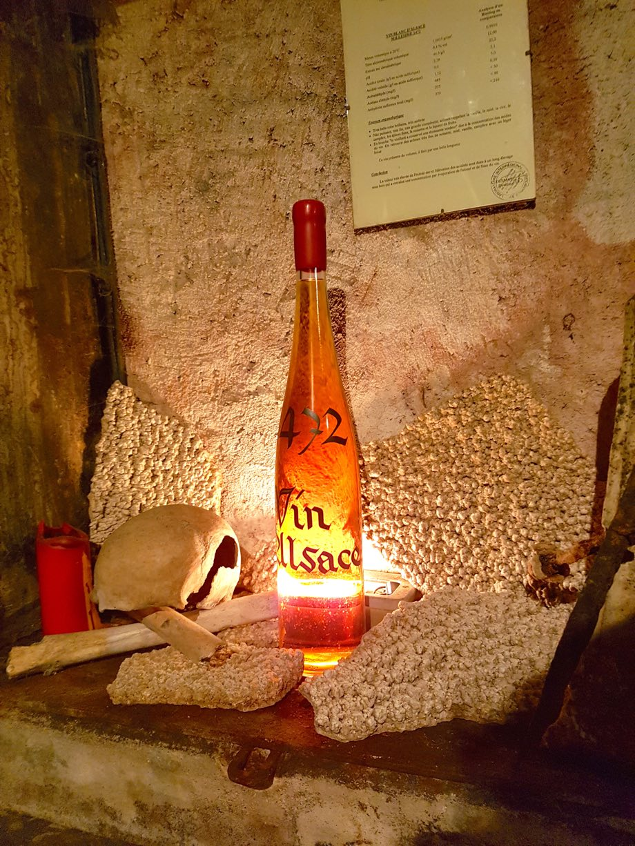 Cave des Hospices de Strasbourg Miss Elka Blog Strasbourg vin plus vieux en foudre