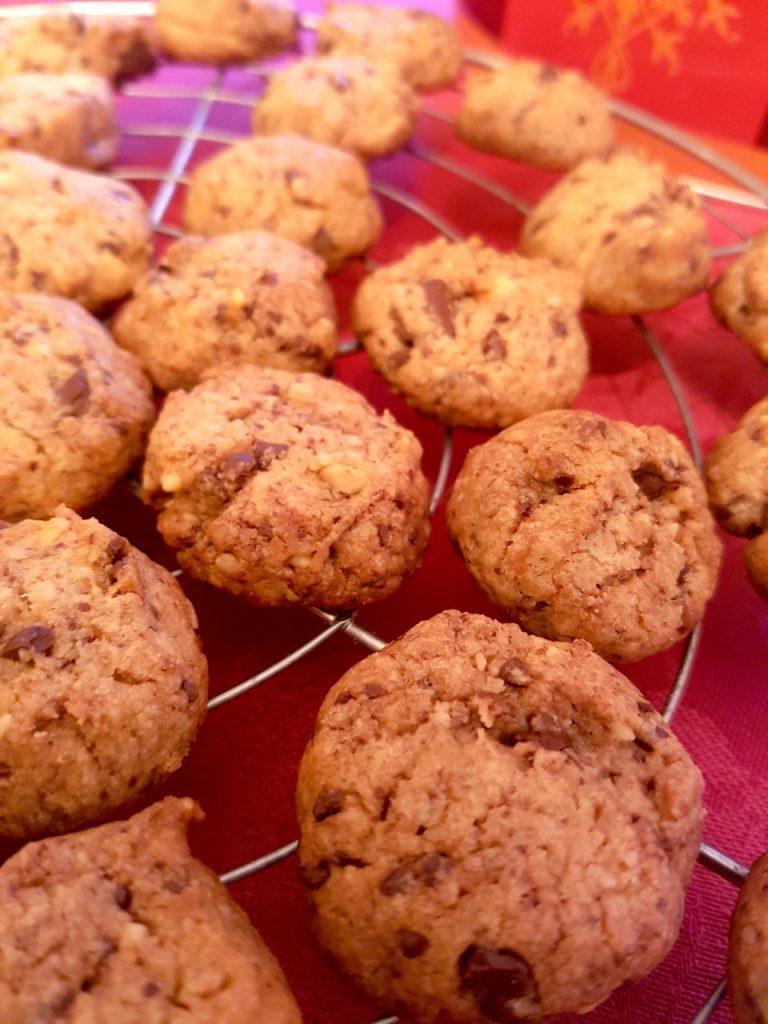 Cookies Noix chocolat : Nusshiffele – bredeles
