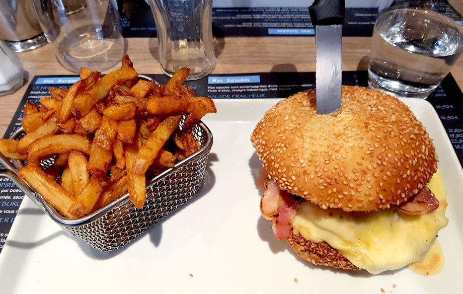 Fun Burger benfeld burger frites