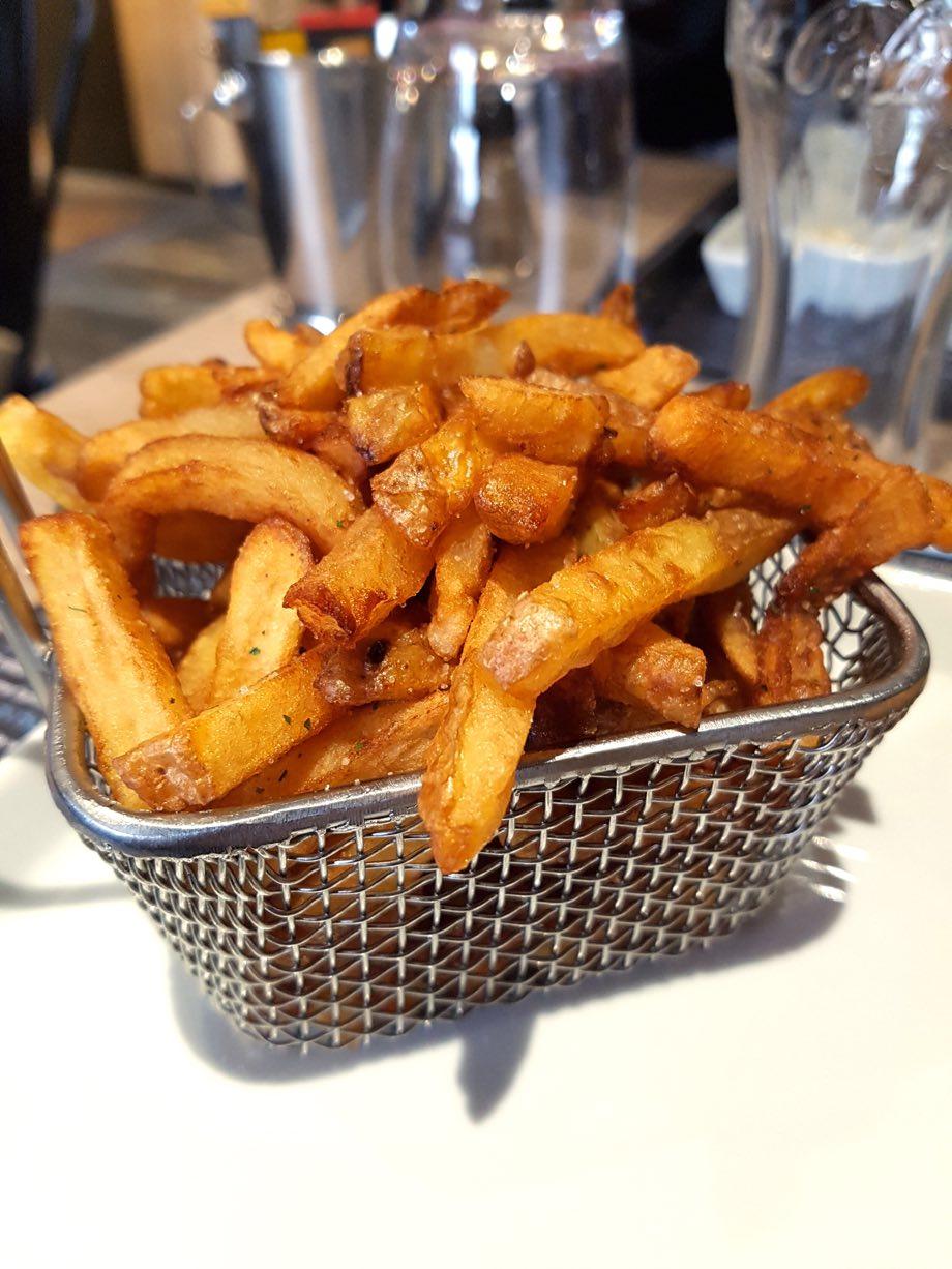 frites bien dorées