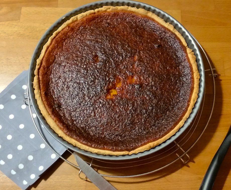 recette tarte potiron entiere