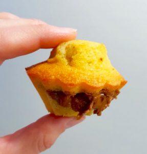 Muffins Nutella : recette muffin chocolat