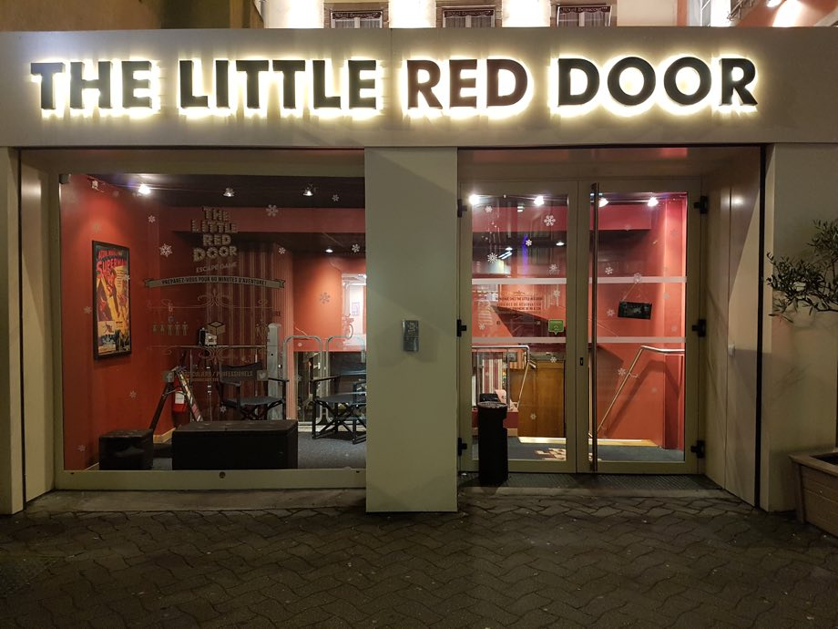 little red door entree