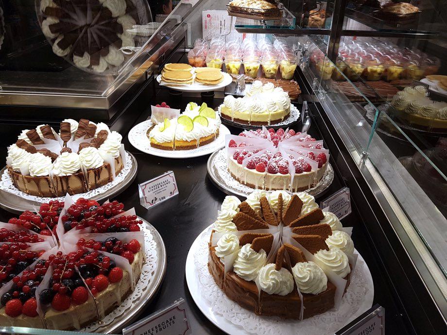 cheesecake vitrine factory and co strasbourg