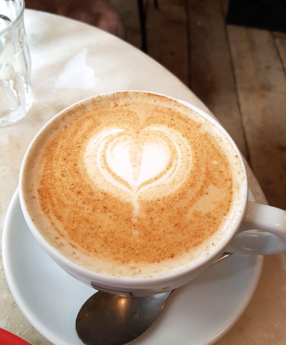 chai latte - cafe bretelles strasbourg