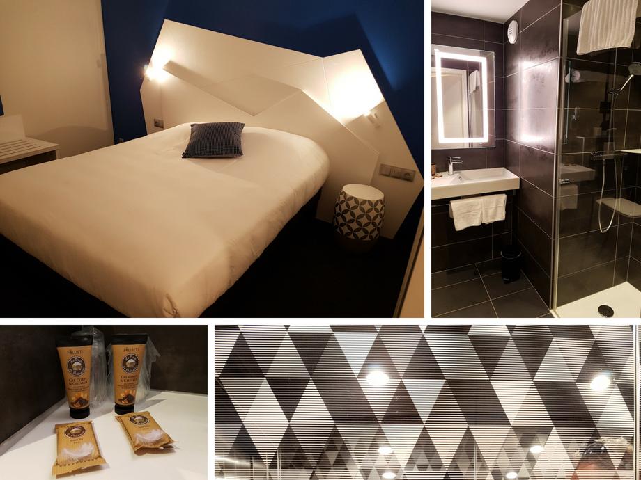 chambre hotel origami strasbourg