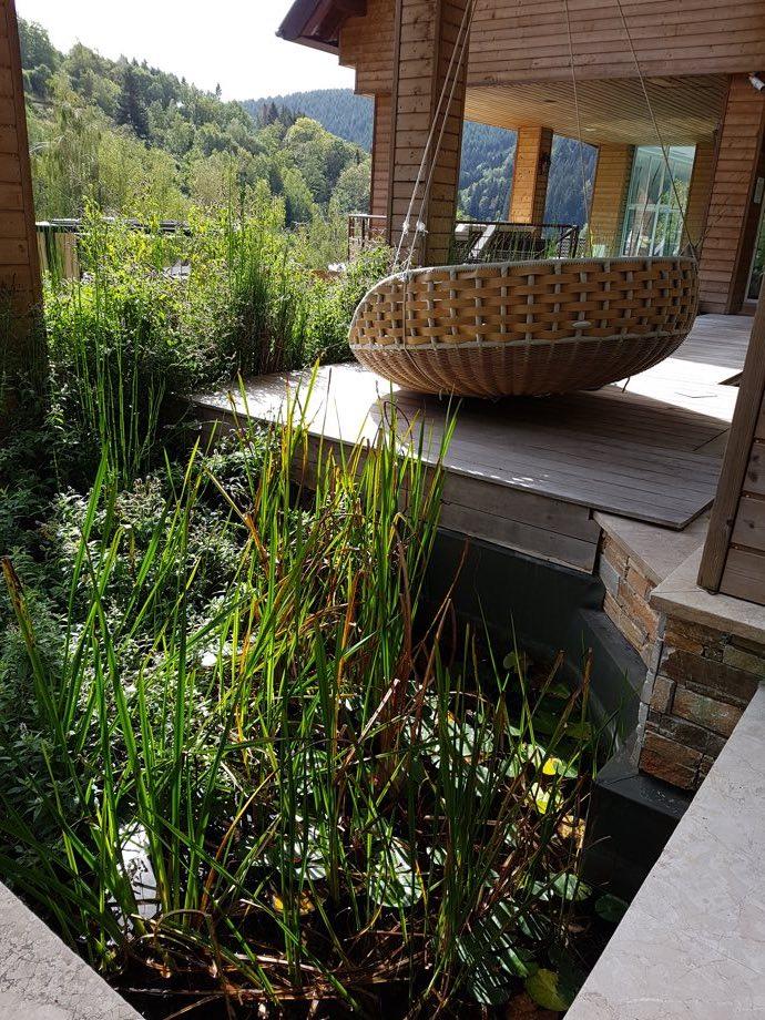 plante piscine naturelle spa et brunch à la chenaudière