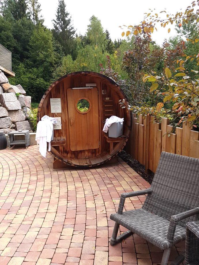 sauna tonneau spa et brunch à la chenaudière