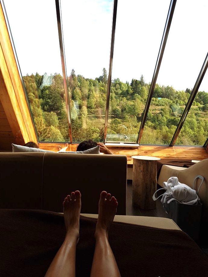 espace repos spa et brunch à la chenaudière