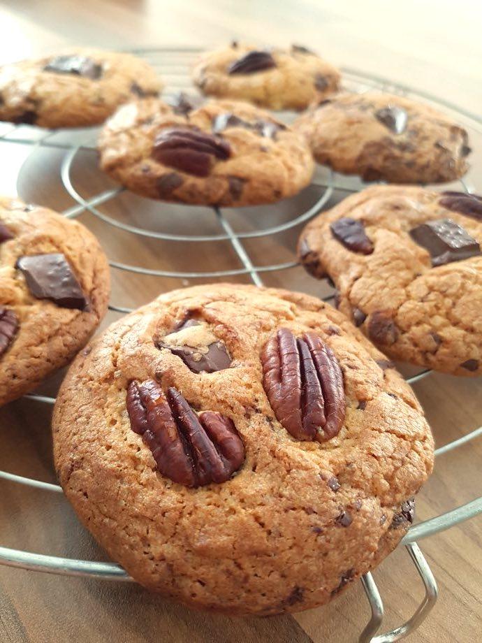 cookies gros éclats de pépites de chocolat noir