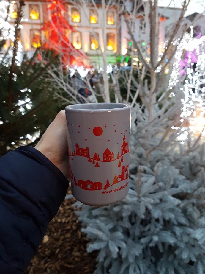 vin chaud marché de Noël à Haguenau