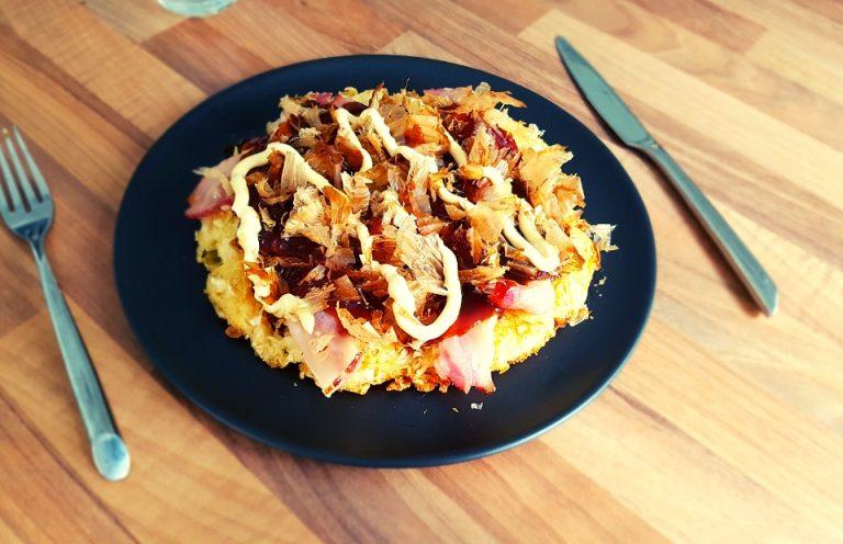 Okonomiyaki : recette galette de choucroute