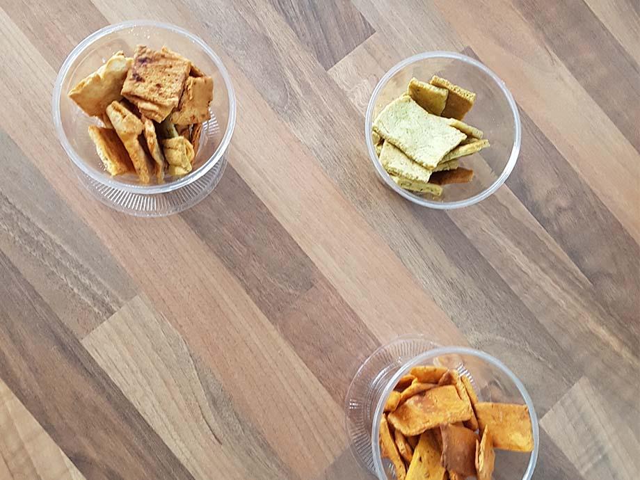 crackers fait maison